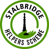 STALBRIDGE HELPERS SCHEME BADGE